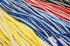 多种capoeira绳子 库存照片