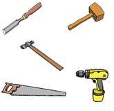 多种tools1 库存照片