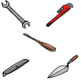 多种tools2 库存图片