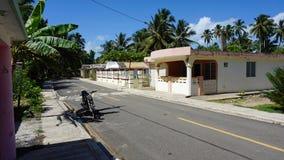 多米尼加共和国的住房 免版税图库摄影