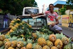 多米尼加共和国的公民 图库摄影