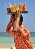 多米尼加共和国的好客翻译和诚恳 免版税图库摄影