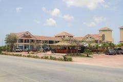 多米尼加共和国的村庄 免版税库存图片
