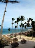 多米尼加共和国的海滩 库存照片