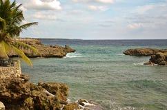 多米尼加共和国的看法 库存图片