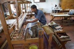 多米尼加共和国的纺织品 免版税库存图片