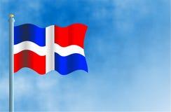 多米尼加共和国 库存例证