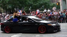 2014多米尼加天游行在曼哈顿34 免版税图库摄影