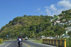 多米尼加,加勒比 免版税库存图片