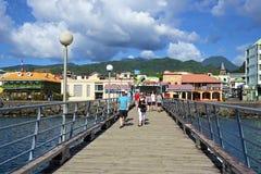 多米尼加,加勒比 库存图片