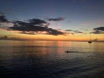 多米尼加水 免版税图库摄影