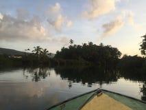 多米尼加水 免版税库存照片