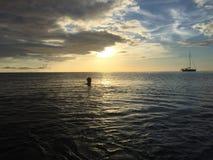 多米尼加水 免版税库存图片