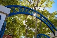 多米诺公园迈阿密 免版税图库摄影