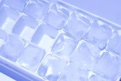 多维数据集冰栈 图库摄影