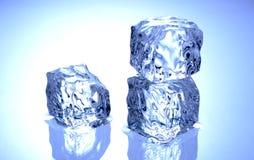 多维数据集冰 免版税图库摄影