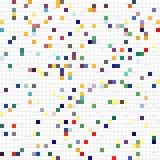 多维数据集模式玩具 库存图片