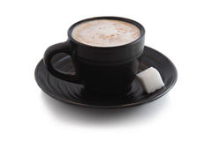 多维数据集浓咖啡糖 图库摄影