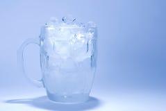 多维数据集玻璃冰 免版税库存图片