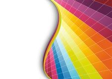 多色几何背景 免版税库存照片