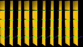 多色的垂直的转动的柱子圈 皇族释放例证