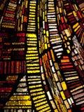 多色的彩色玻璃 免版税图库摄影