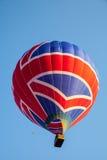 多色的热空气气球 免版税库存图片