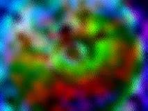 多色的玻璃 库存图片