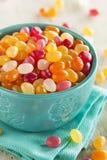 多色的软心豆粒糖糖果 库存照片