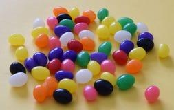 多色的软心豆粒糖 库存照片