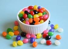 多色的软心豆粒糖 免版税库存照片