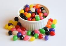 多色的软心豆粒糖 免版税库存图片