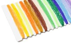 多色缝合针线 免版税库存图片