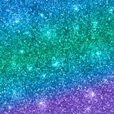多色闪烁背景 向量 库存例证