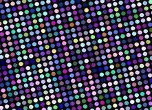 多色马赛克加点抽象样式 欢乐淡光迪斯科背景 向量例证