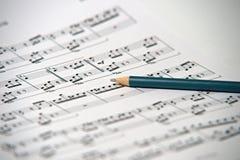 贝多芬写的歌曲-伊利亚州的 图库摄影