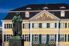 贝多芬纪念碑 免版税库存图片
