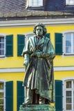 贝多芬纪念碑 免版税库存照片