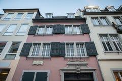 贝多芬诞生房子波恩德国 库存照片