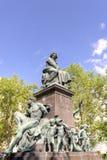 贝多芬雕象  免版税库存图片