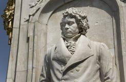 贝多芬雕象 库存图片