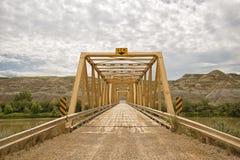 多萝西轮渡桥梁风景 免版税库存图片