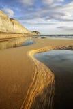 多西特侏罗纪海岸 库存图片