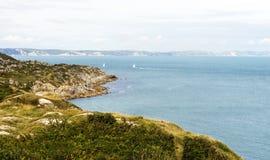 多西特海岸英国 免版税图库摄影