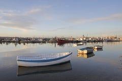 多西特英国poole码头英国 库存图片