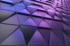 多角形形状抽象背景  免版税库存图片