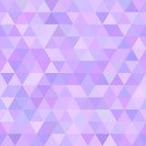 多角形抽象无缝的样式 免版税库存图片