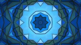 多角形抽象表面 Semless圈3D回报 皇族释放例证
