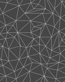 多角形样式模板 免版税库存图片