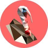 多角形样式的土耳其 趋向的时尚例证 免版税库存照片